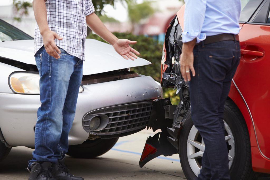 work vehicle accident